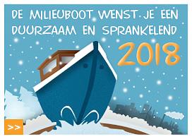Nieuwjaarswens de Milieuboot 2017
