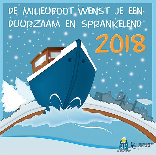 Beste wensen vanwege De Milieuboot!